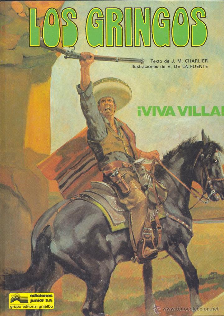 LOS GRINGOS Nº2. EDICIONES JUNIOR, 1981. DE CHARLIER Y VÍCTOR DE LA FUENTE. ¡UN CLÁSICO! (Tebeos y Comics - Grijalbo - Otros)