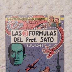 Cómics: LAS AVENTURAS DE BLAKE Y MORTIMER - LAS 3 FORMULAS DEL PROFESOR SATO - 1º PARTE N. 8. Lote 87658992