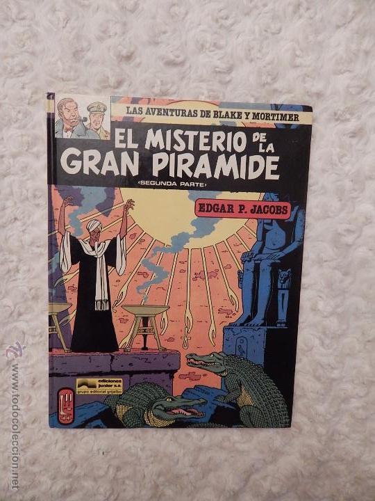 LAS AVENTURAS DE BLAKE Y MORTIMER - EL MISTERIO DE LA GRAN PIRAMIDE N.2 SEGUNDA PARTE (Tebeos y Comics - Grijalbo - Blake y Mortimer)