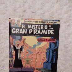 Cómics: LAS AVENTURAS DE BLAKE Y MORTIMER - EL MISTERIO DE LA GRAN PIRAMIDE N.2 SEGUNDA PARTE. Lote 217357148