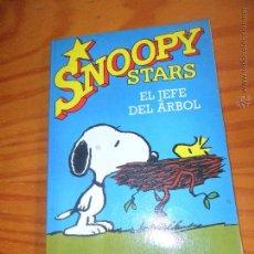 Cómics: SNOOPY STARS TOMO 9- EL JEFE DEL ARBOL - CHARLES M. SCHULZ - EDICIONES JUNIOR GRIJALBO. Lote 54268404