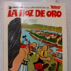 Cómics: ASTERIX - LA HOZ DE ORO - PUBLICACIÓN EN ESPAÑA 1980. Lote 54349739