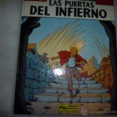 Fumetti: LEFRANC, LAS PUERTAS DEL INFIERNO, JACQUES MARTIN, EDICIONES JUNIOR, 1987. Lote 54356640