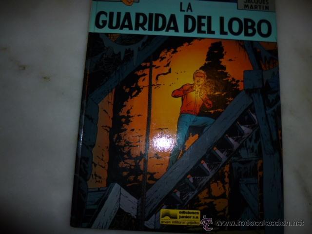 LEFRANC Nº 4, LA GUARIDA DEL LOBO. AUTOR, JACQUES MARTIN. EDICIONES JUNIOR- GRIJALBO, AÑO 1986. (Tebeos y Comics - Grijalbo - Lefranc)