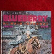 Cómics: LA JUVENTUD DE BLUEBERRY Nº 28: EL RAID INFERNAL. CHARLIER/WILSON. EDICIONES JUNIOR S.A. NUEVO. Lote 49392957