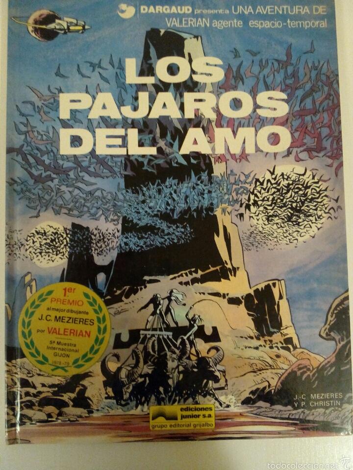 VALERIAN, N°4 LOS PAJAROS DEL AMO (Tebeos y Comics - Grijalbo - Valerian)