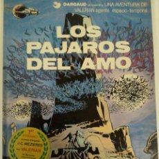 Cómics: VALERIAN, N°4 LOS PAJAROS DEL AMO. Lote 54379209