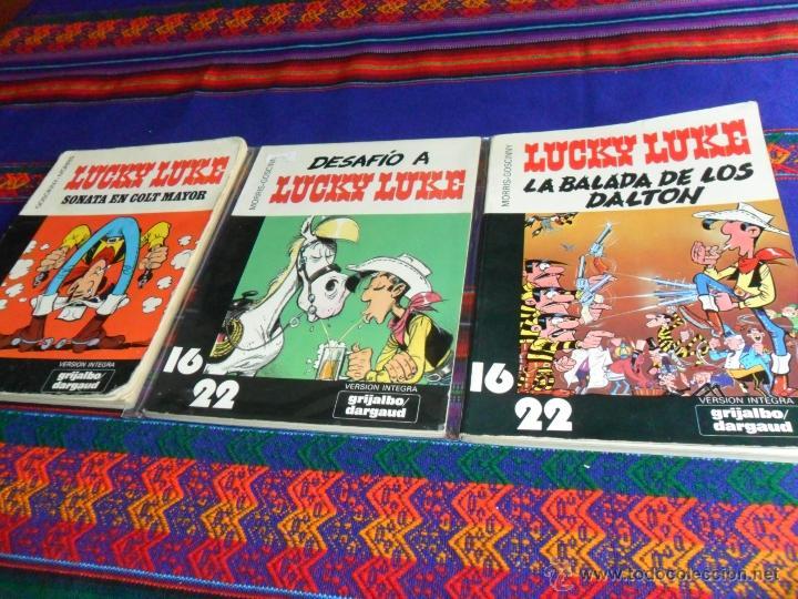 LUCKY LUKE COL. 16 22 NºS 4 7 10 DESAFÍO A, LA BALADA DE LOS DALTON, SONATA EN COLT MAYOR. GRIJALBO (Tebeos y Comics - Grijalbo - Lucky Luke)