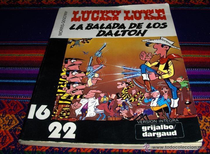 Cómics: LUCKY LUKE COL. 16 22 NºS 4 7 10 DESAFÍO A, LA BALADA DE LOS DALTON, SONATA EN COLT MAYOR. GRIJALBO - Foto 2 - 54388662