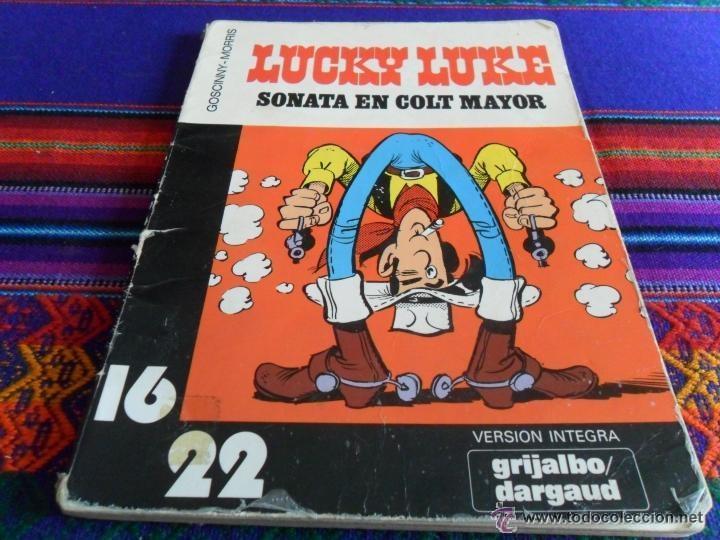 Cómics: LUCKY LUKE COL. 16 22 NºS 4 7 10 DESAFÍO A, LA BALADA DE LOS DALTON, SONATA EN COLT MAYOR. GRIJALBO - Foto 3 - 54388662