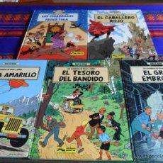 Cómics: ÓSCAR Y JULIÁN COMPLETA 1 2 3 4 5. GRIJALBO 1987. EMBROLLO BANDIDO ESPÍA CABALLERO ROJO REINA THIA.. Lote 54388830