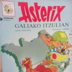 Cómics: ASTERIX EN EUSKERA GALIAKO ITZULIAN. Lote 54390188