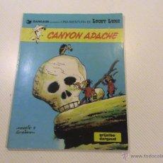 Cómics: LUCKY LUKE. Nº 17. CANYON APACHE. . Lote 54415824