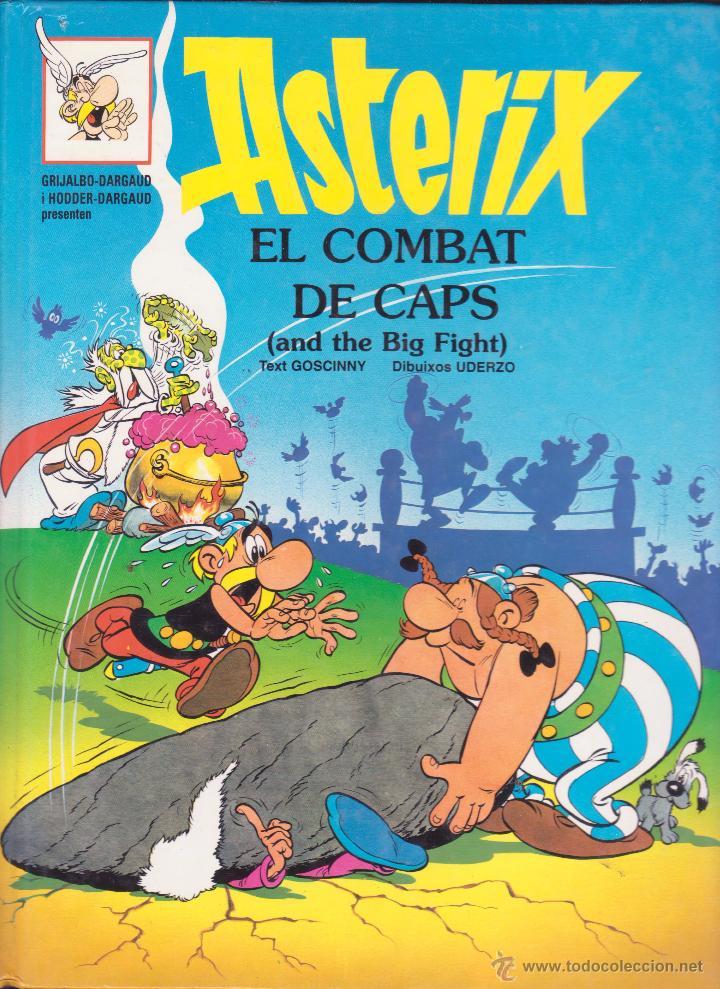 Cómics: ASTERIX ALS JOCSS OLÍMPICS I ASTERIX EL COMBAT DELS CAPS -- EN CATALÀ I ANGLÈS - Foto 2 - 54432804