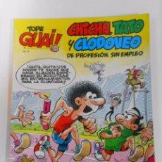 Cómics: TOPE GUAI! Nº 9 - CHICHA, TATO Y CLODOVEO. EDICIONES JUNIOR. GRIJALBO. TDKC11. Lote 54474637