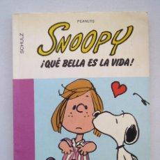 Cómics: SNOOPY Nº 15 - ¡QUE BELLA ES LA VIDA! - SCHULZ - GRIJALBO/DARGAUD.. Lote 54583275
