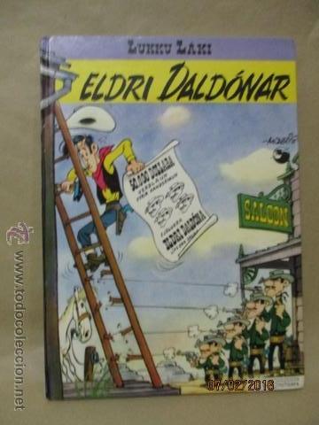 ELDRI DOLDONAR - LUKKU LÁKI - (EN ISLANDÉS) (Tebeos y Comics - Grijalbo - Lucky Luke)