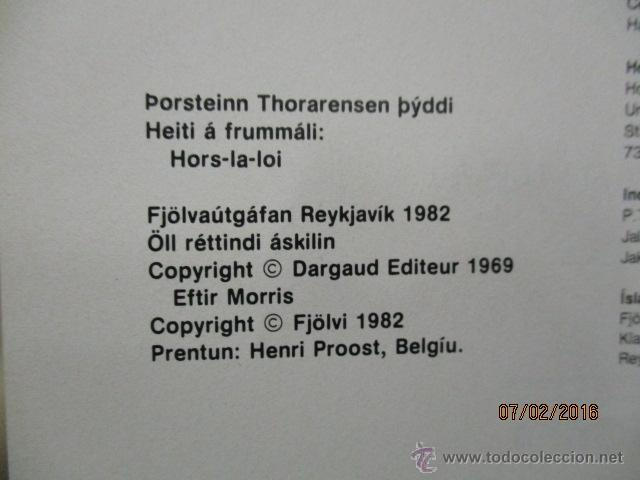Cómics: eldri doldonar - Lukku Láki - (en Islandés) - Foto 5 - 54689834