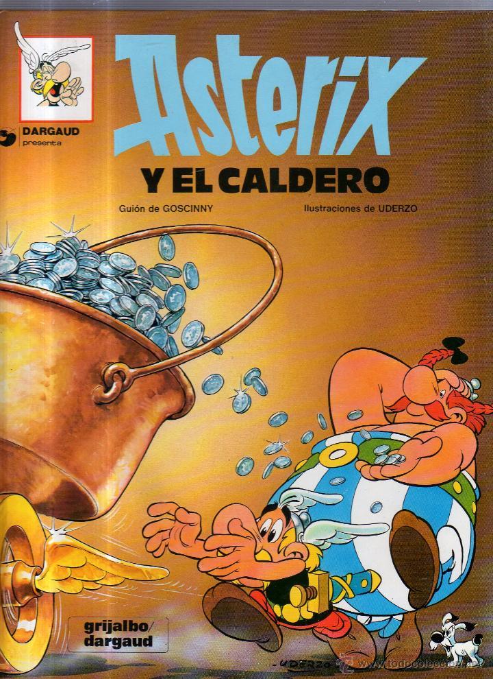 DARGAUD PRESENTA. ASTERIX Y EL CALDERO. Nº 13. GRIJALBO (Tebeos y Comics - Grijalbo - Asterix)