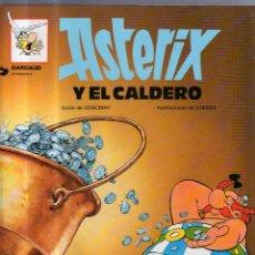 Cómics: DARGAUD PRESENTA. ASTERIX Y EL CALDERO. Nº 13. GRIJALBO. Lote 54782210