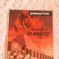Cómics: PAPYRUS - LA METAMORFOSIS DE IMHOTEP N. 8. Lote 54845883