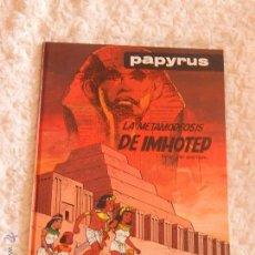 Cómics: PAPYRUS - LA METAMORFOSIS DE IMHOTEP N. 8. Lote 54846007