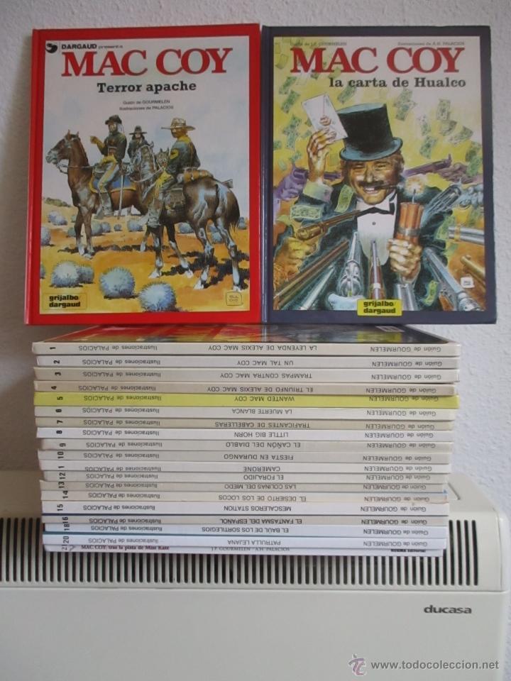 MAC COY COLECCIÓN COMPLETA 21 TOMOS, ANTONIO HERNANDEZ PALACIOS, MUY BUEN ESTADO VER FOTOS (Tebeos y Comics - Grijalbo - Mac Coy)
