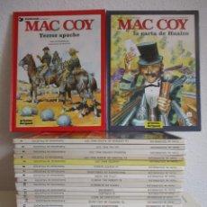 Cómics: MAC COY COLECCIÓN COMPLETA 21 TOMOS, ANTONIO HERNANDEZ PALACIOS, MUY BUEN ESTADO VER FOTOS. Lote 54884421