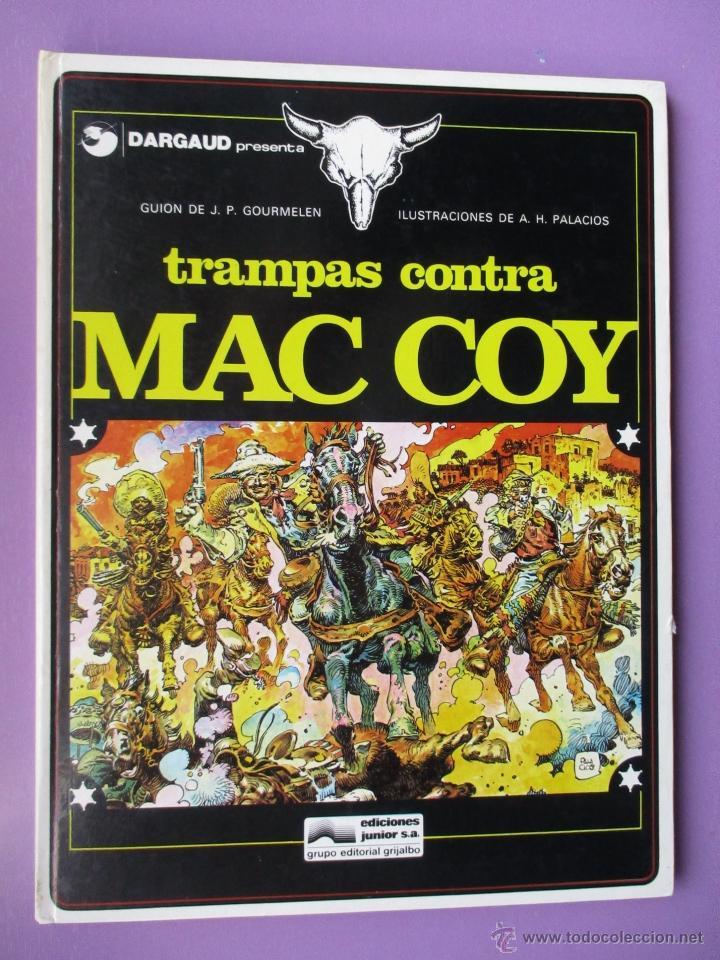 Cómics: MAC COY COLECCIÓN COMPLETA 21 TOMOS, ANTONIO HERNANDEZ PALACIOS, MUY BUEN ESTADO VER FOTOS - Foto 5 - 54884421