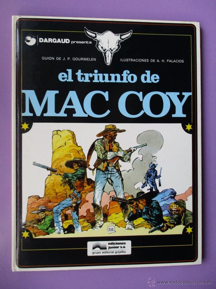 Cómics: MAC COY COLECCIÓN COMPLETA 21 TOMOS, ANTONIO HERNANDEZ PALACIOS, MUY BUEN ESTADO VER FOTOS - Foto 6 - 54884421