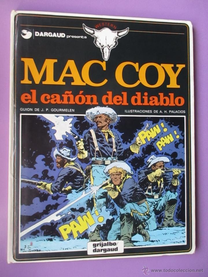Cómics: MAC COY COLECCIÓN COMPLETA 21 TOMOS, ANTONIO HERNANDEZ PALACIOS, MUY BUEN ESTADO VER FOTOS - Foto 11 - 54884421