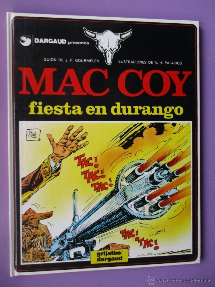 Cómics: MAC COY COLECCIÓN COMPLETA 21 TOMOS, ANTONIO HERNANDEZ PALACIOS, MUY BUEN ESTADO VER FOTOS - Foto 12 - 54884421