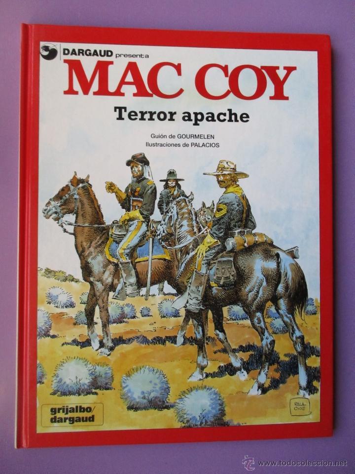Cómics: MAC COY COLECCIÓN COMPLETA 21 TOMOS, ANTONIO HERNANDEZ PALACIOS, MUY BUEN ESTADO VER FOTOS - Foto 19 - 54884421