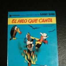Cómics: LUCKY LUKE 10 - EL HILO QUE CANTA - MORRIS Y GOSCINNY - GRIJALBO/JUNIOR - TAPA DURA (1979). Lote 54938186