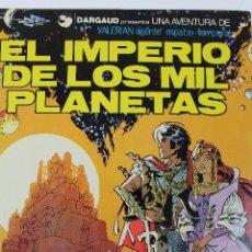 Cómics: L-3403. VALERIAN AGENTE ESPACIO-TEMPORAL. EL IMPERIO DE LOS MIL PLANETAS. MEZIERS/ P. CHRISTIN. 1978. Lote 54960758