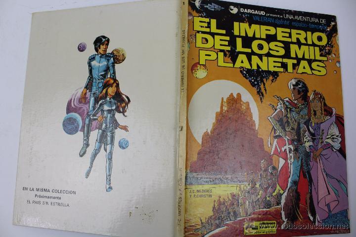Cómics: L-3403. VALERIAN AGENTE ESPACIO-TEMPORAL. EL IMPERIO DE LOS MIL PLANETAS. MEZIERS/ P. CHRISTIN. 1978 - Foto 2 - 54960758