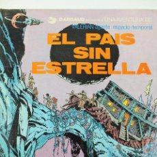 Cómics: L-3404 VALERIAN AGENTE ESPACIO-TEMPORAL. EL PAIS SIN ESTRELLA. MEZIERS/ P. CHRISTIN. 1978.. Lote 54960853