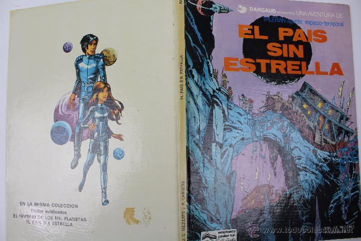 Cómics: L-3404 VALERIAN AGENTE ESPACIO-TEMPORAL. EL PAIS SIN ESTRELLA. MEZIERS/ P. CHRISTIN. 1978. - Foto 2 - 54960853