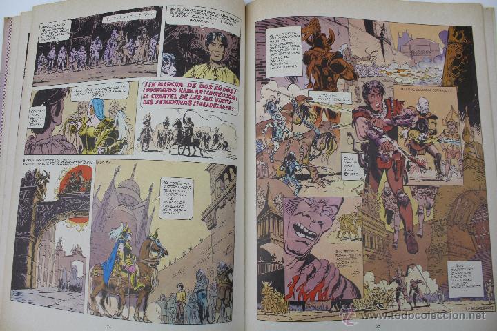 Cómics: L-3404 VALERIAN AGENTE ESPACIO-TEMPORAL. EL PAIS SIN ESTRELLA. MEZIERS/ P. CHRISTIN. 1978. - Foto 6 - 54960853