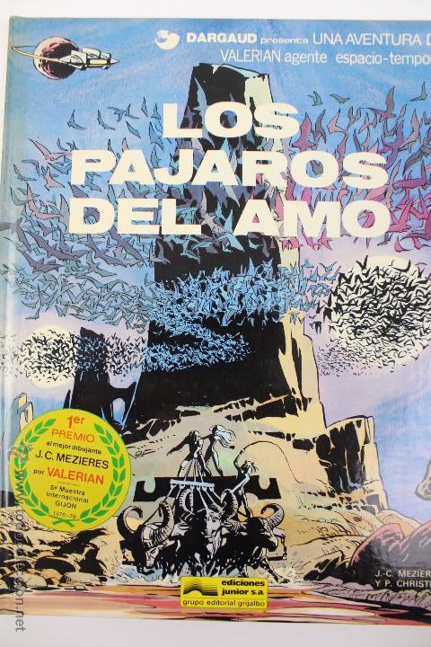 L-3406. VALERIAN AGENTE ESPACIO-TEMPORAL. LOS PAJAROS DEL AMO. MEZIERS/ P. CHRISTIN. 1979. (Tebeos y Comics - Grijalbo - Valerian)