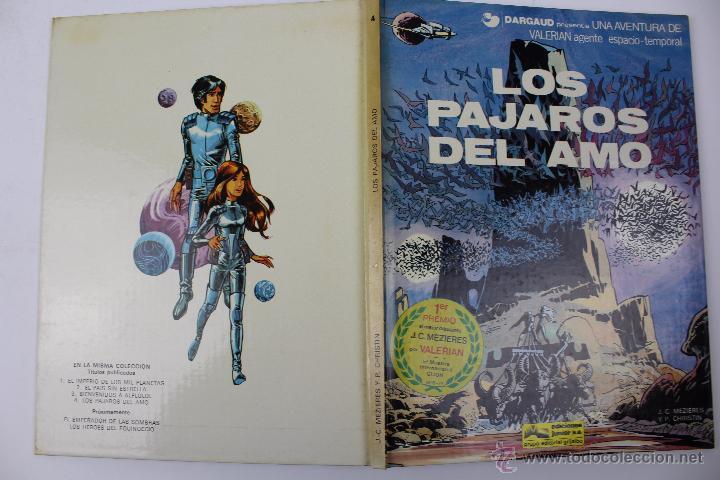 Cómics: L-3406. VALERIAN AGENTE ESPACIO-TEMPORAL. LOS PAJAROS DEL AMO. MEZIERS/ P. CHRISTIN. 1979. - Foto 2 - 54961041