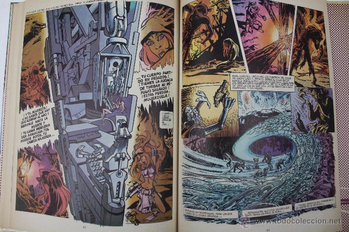 Cómics: L-3406. VALERIAN AGENTE ESPACIO-TEMPORAL. LOS PAJAROS DEL AMO. MEZIERS/ P. CHRISTIN. 1979. - Foto 7 - 54961041