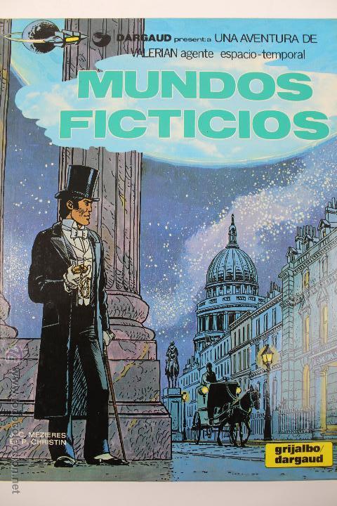 L-3408. VALERIAN AGENTE ESPACIO-TEMPORAL. MUNDOS FICTICIOS. MEZIERS/ P. CHRISTIN. 1981. (Tebeos y Comics - Grijalbo - Valerian)