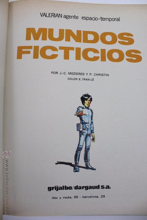 Cómics: L-3408. VALERIAN AGENTE ESPACIO-TEMPORAL. MUNDOS FICTICIOS. MEZIERS/ P. CHRISTIN. 1981. - Foto 4 - 54961904