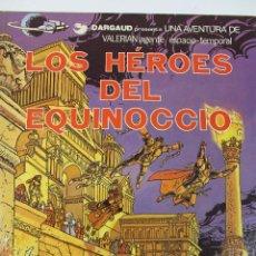 Cómics: L-3409. VALERIAN AGENTE ESPACIO-TEMPORAL. LOS HEROES DEL EQUINOCCIO. MEZIERS/ P. CHRISTIN. 1982.. Lote 54962450