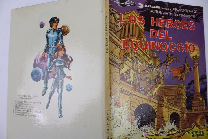 Cómics: L-3409. VALERIAN AGENTE ESPACIO-TEMPORAL. LOS HEROES DEL EQUINOCCIO. MEZIERS/ P. CHRISTIN. 1982. - Foto 2 - 54962450