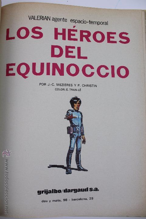 Cómics: L-3409. VALERIAN AGENTE ESPACIO-TEMPORAL. LOS HEROES DEL EQUINOCCIO. MEZIERS/ P. CHRISTIN. 1982. - Foto 4 - 54962450