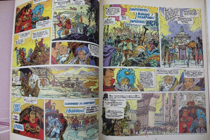 Cómics: L-3409. VALERIAN AGENTE ESPACIO-TEMPORAL. LOS HEROES DEL EQUINOCCIO. MEZIERS/ P. CHRISTIN. 1982. - Foto 5 - 54962450