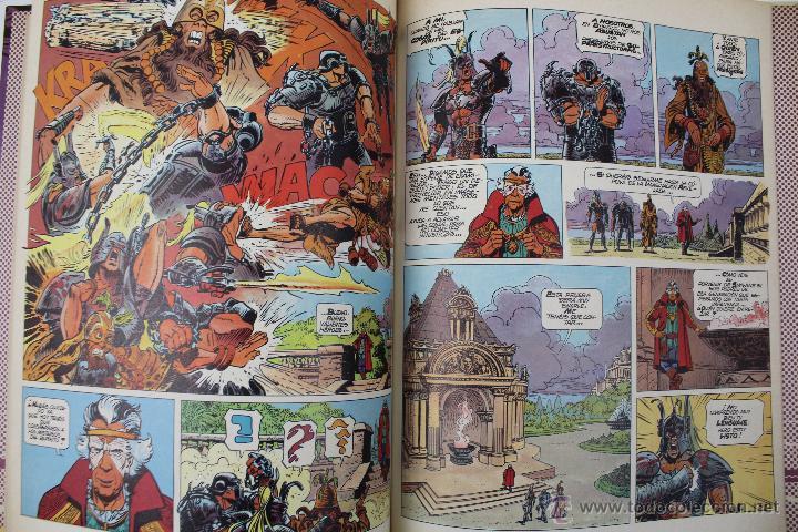 Cómics: L-3409. VALERIAN AGENTE ESPACIO-TEMPORAL. LOS HEROES DEL EQUINOCCIO. MEZIERS/ P. CHRISTIN. 1982. - Foto 7 - 54962450