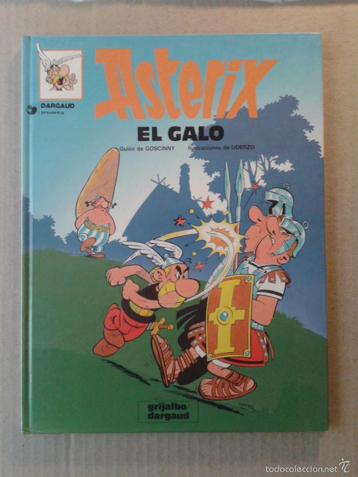 ASTERIX EL GALO, DE GOSCINNY Y UDERZO. GRIJALBO / DARGAUD. (Tebeos y Comics - Grijalbo - Asterix)